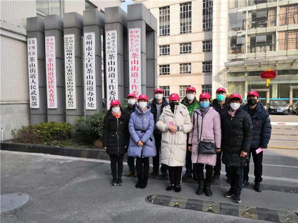 市总工会党员志愿者投入疫情防控一线
